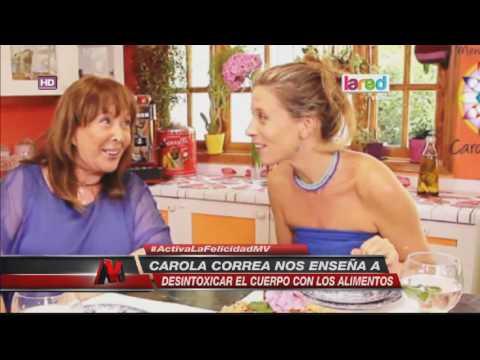 """Chef Carola Correa y su llamado a bajar de peso: """"No hagan dietas"""" thumbnail"""
