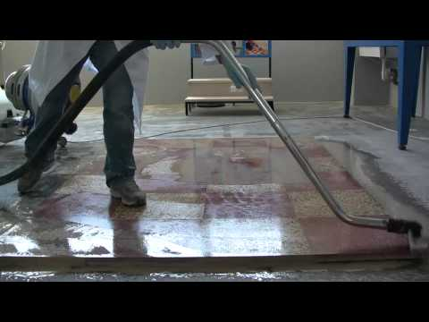 Terrazzo floor polishing - How to polishing floor with Klindex system