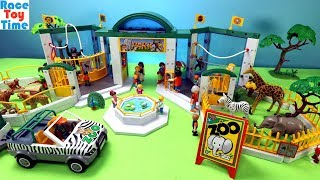 Playmobil Animals Zoo Build and Play Fun Animal Toys For Kids