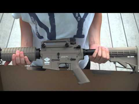 G and G Combat Machine 16 unboxing