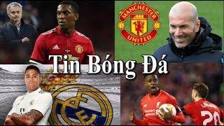 Tin bóng đá | Chuyển nhượng | 30/08/2018 : Zidane sẵn sàng đến MU, Martial ở lại, Real mua lại Diaz
