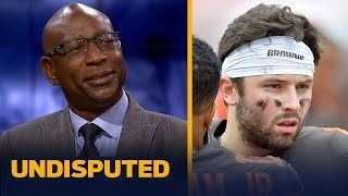 Eric Dickerson expects struggles to continue for Baker, Browns against Rams | NFL | UNDISPUTED