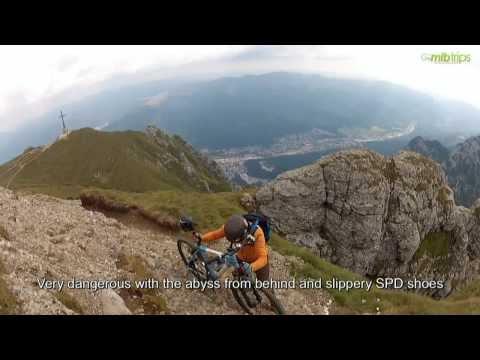 Mtb tour of Bucegi Mountains, High Plateau and Ridge in Carpathians, Romania