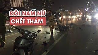 Chạy xe máy vào làn ô tô cầu Sài Gòn, đôi nam nữ chết thảm