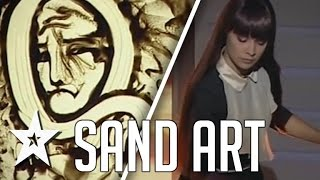 Kseniya Simonova Incredible Sand Art On Ukraine's Got Talent