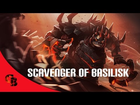 Dota 2: Store - Pudge - Scavenger Of Basilisk W  Korean Dota League Season 4 video
