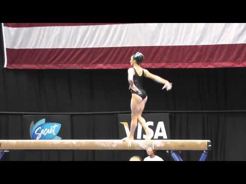 (Cincinnati) Lexie Priessman-FULL-IN DISMOUNT!