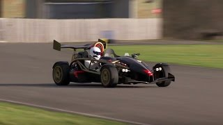 Aerial Atom V8 Power Lap - Top Gear - The Stig - BBC