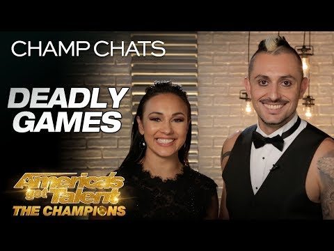 Deadly Games Recaps Their Scary Golden Buzzer Act - America's Got Talent: The Champions