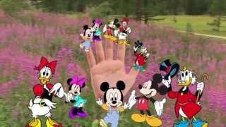 MICKEY MOUSE FINGER FAMILY COLLECTION - Minnie & Mickey Mouse Nursery Rhymes