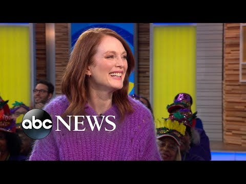 Julianne Moore Talks Singing And Dancing In Her Romantic New Movie | GMA