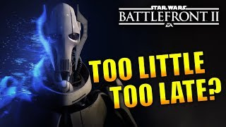 Is The Clone Wars DLC Announcement Too Late? - Star Wars Battlefront 2