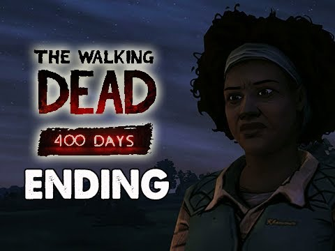 The Walking Dead 400 Days Gameplay Walkthrough - Part 6 ENDING Tavia's Offer
