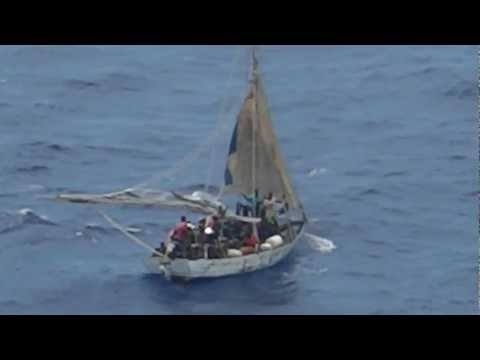 Royal Caribbean Rescue Haitian Refugees August 2012 - Allure of the Seas - Part 1