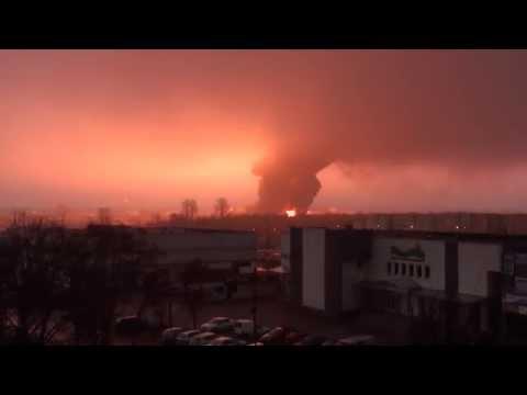 Wybuch Cysterny Białystok Crash Explosion Blast Tanker