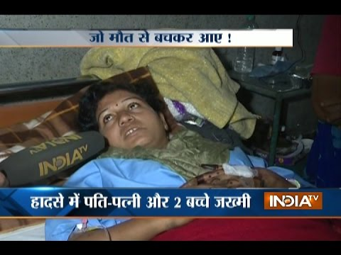 Watch: Family Rescued Safely at Indore-Patna Express Train Accident Spot