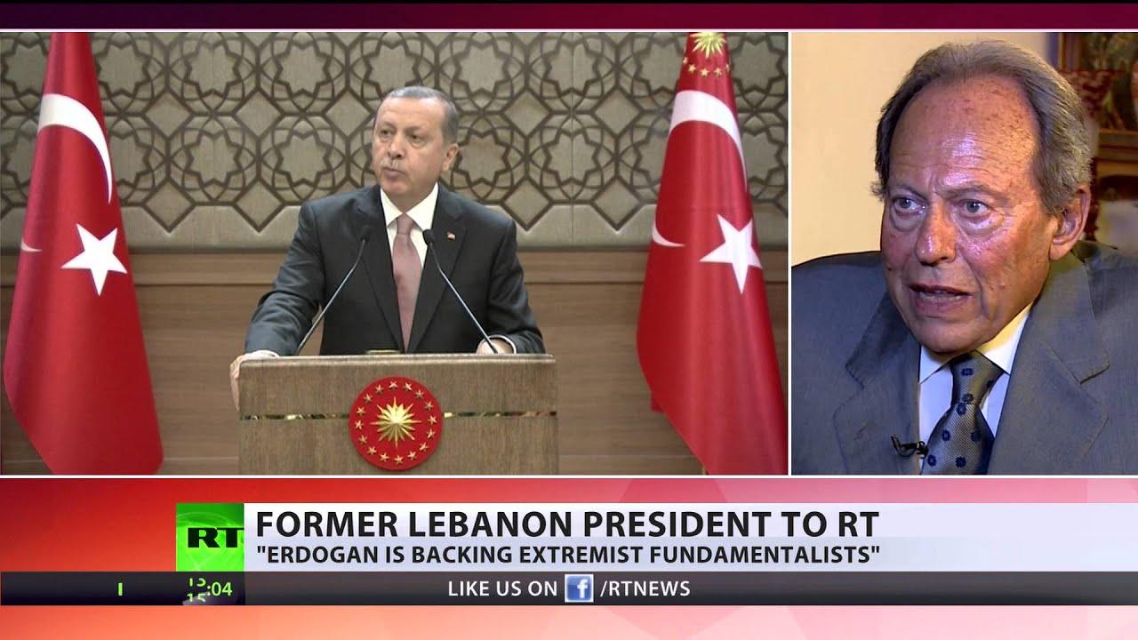 'Erdogan backs extremist fundamentalists' – fmr Lebanon president
