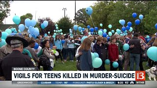 Vigil for Boone County Teens