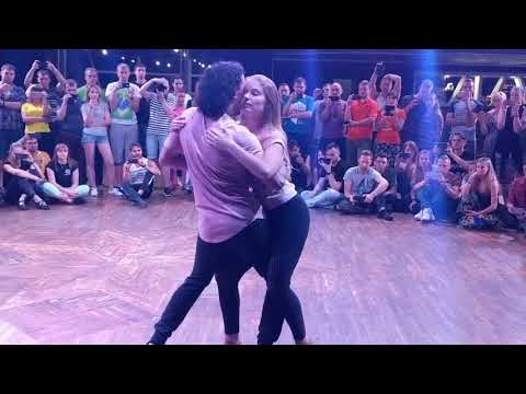 UZC18: Workshop demo-2 with Anastasia & Carlos ~ Zouk Soul