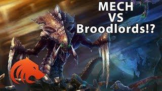 StarCraft 2: Mech VS Broodlord + Infestor EPIC GAME!