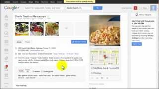 Google plus Local.: How to Leave a Review for Local Businesses
