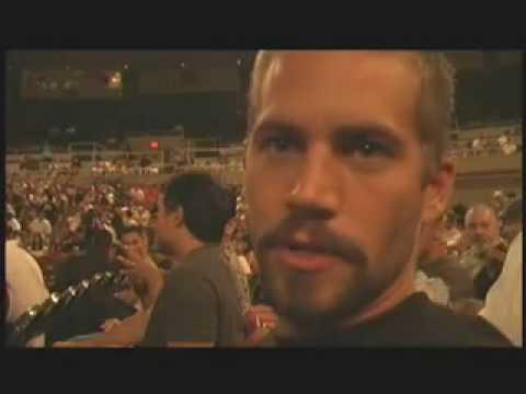 Actor Paul Walker: MMA Fan Video