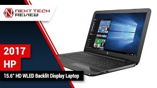 2017 HP 15 6 inch HD WLED Backlit Display Laptop Product Review  – NTR