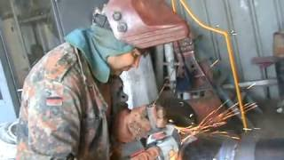 Tig Welding Greeks second & cap pass 6 intz