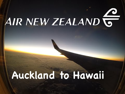 Air New Zealand 767 Trip to Hawaii