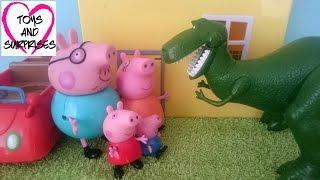 Мультик для детей Свинка Пеппа собирает пазл