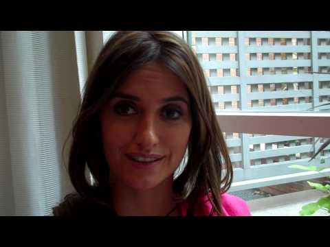 Penélope Cruz discusses working with Pedro Almodóvar on Broken Embraces