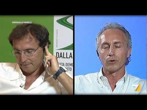 Travaglio VS Ferrara sulla trattativa Stato-Mafia [Parte2di2] (La7, 27Ago2012)
