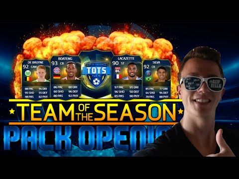 FIFA 15 : EA SPORTS TOTS PACK OPENING | SO VIELE PACKS!