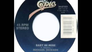 Michael Jackson - Baby Be Mine (Dj