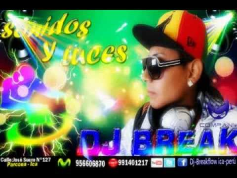 Escápate  conmigo Mix Wolfine Ft. Ñejo Ft Candy Plan B [Dj Break ICA-PERÚ]