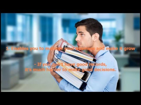 Advantages of maintaining good accounting records