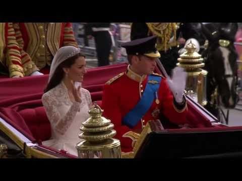 Celebration as the Royal Couple return to Buckingham Palace