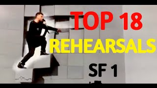 Top 18 Rehearsals with Comments: Semi Final 1 Eurovision 2016