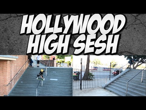 KIDS SKATE HOLLYWOOD HIGH !!! - A DAY WITH NKA -