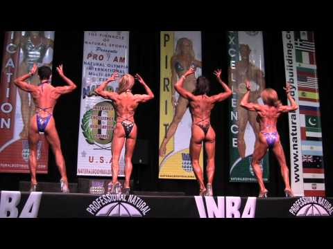 Hot Sexy Women Flexing Their Muscles In High Heels At The Natural Olympia- Video By Clifta video