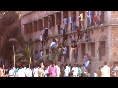 Parental Guidance, Bihar Style. Parents Help Class 10 Students In Large-scale Cheating video