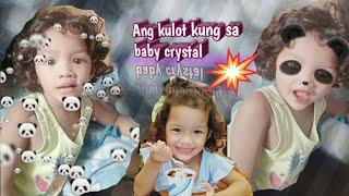 Curly hair baby sing johny johny:)