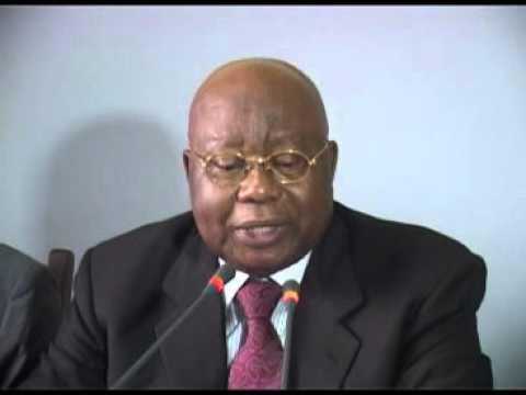 Point de presse de l'opposition congolaise apres le méga meeting du 27 Septembre 2015