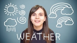 Turkish Weekly Words with Selin - Weather