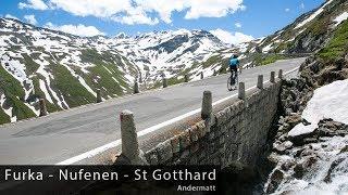 Giants of Switzerland - Furka, Nufenen & St Gotthard - Cycling Inspiration & Education
