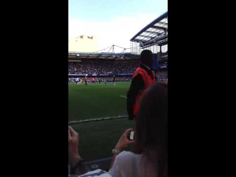 Chelsea Lap of honour 12/13