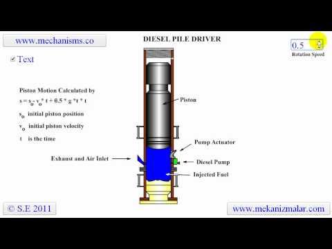 Diesel Pile Driver Youtube
