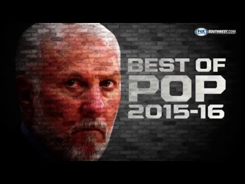 Best of Gregg Popovich: First half of 2015-16 season