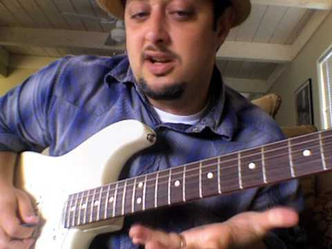 0 Blues Guitar Lesson   Soloing and Scales   Mixo blues pt 2