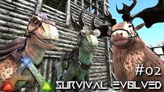 ARK: Survival Evolved - BATTLE MOUNTS - RAPTOR or FROG - SEASON 3 [S3 E02] (Gameplay)